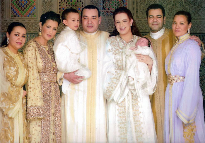 His Majesty King Mohammed VI and His Family